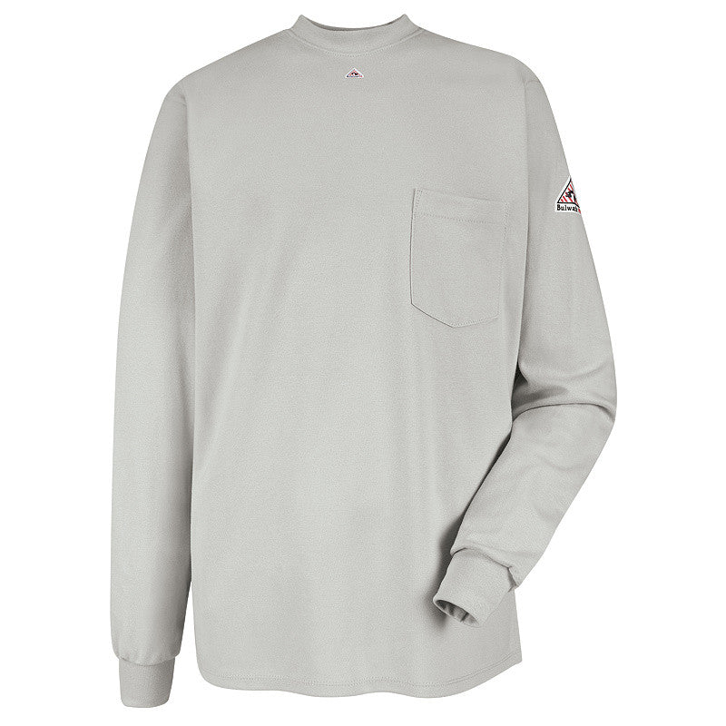 Bulwark - Long Sleeve Tagless T-Shirt - EXCEL FR