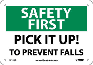 Safety First Pick It Up! To Prevent Falls