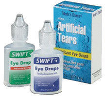 Swift First Aid 1/2 Ounce Bottle Artificial Tears Eye Drops