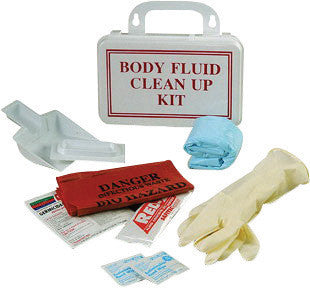 North by Honeywell Clear Poly Bag Body Fluid Clean-Up Kit