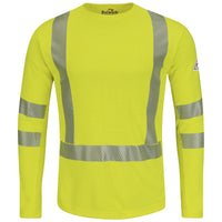 Bulwark - Hi-Visibility Flame-Resistant Long Sleeve T-Shirt - Power Dry FR