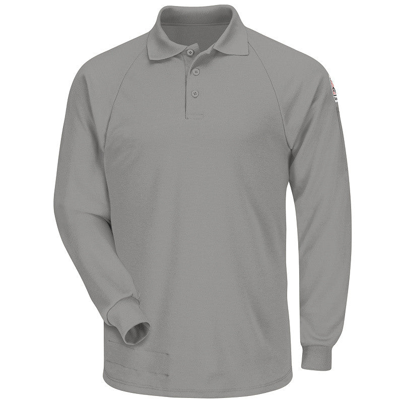 Bulwark - Classic Long Sleeve Polo - CoolTouch2