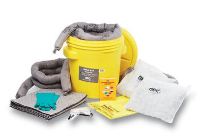 SPC Spill Kits 20 Gallon Lab Pack Hazwik