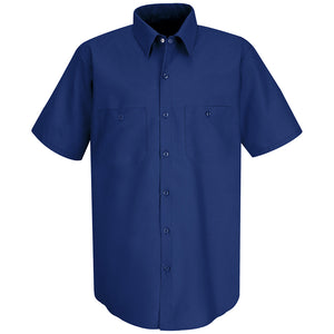 Red Kap Men's Industrial Work Shirt