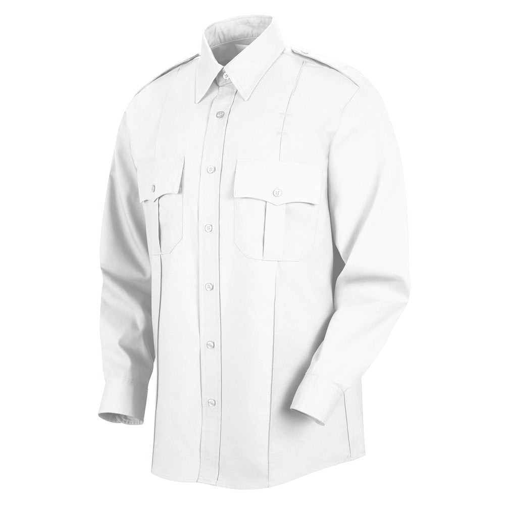 Horace Small Sentinel Upgraded Security Long Sleeve Shirt SP36WH - White