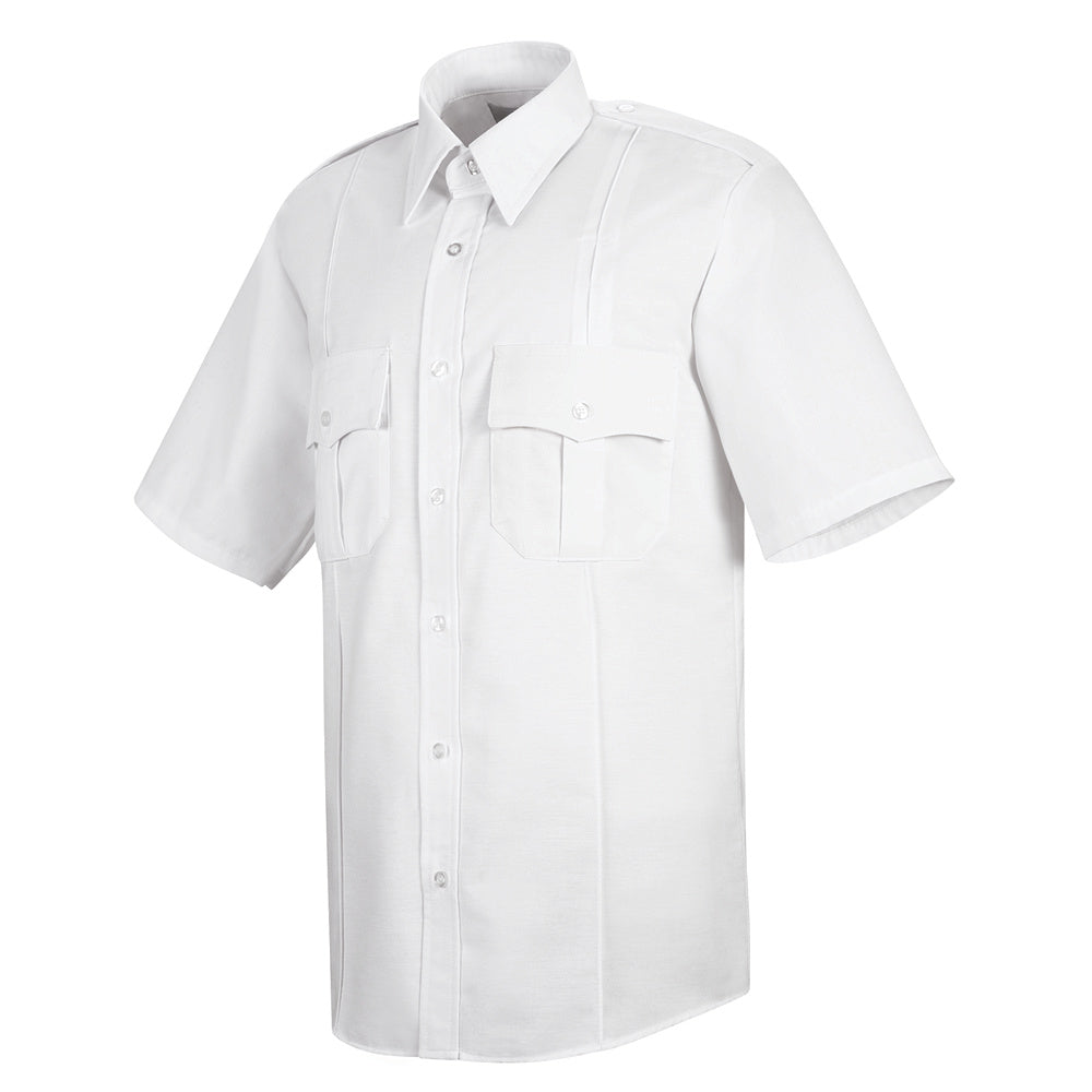 Horace Small Sentinel Upgraded Security Short Sleeve Shirt SP46WH - White