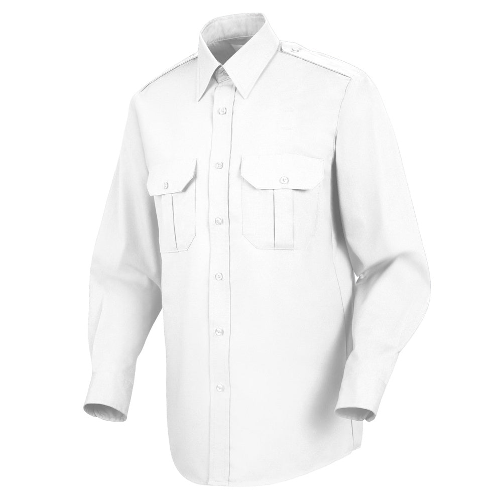 Horace Small Sentinel Basic Security Long Sleeve Shirt SP56WH - White