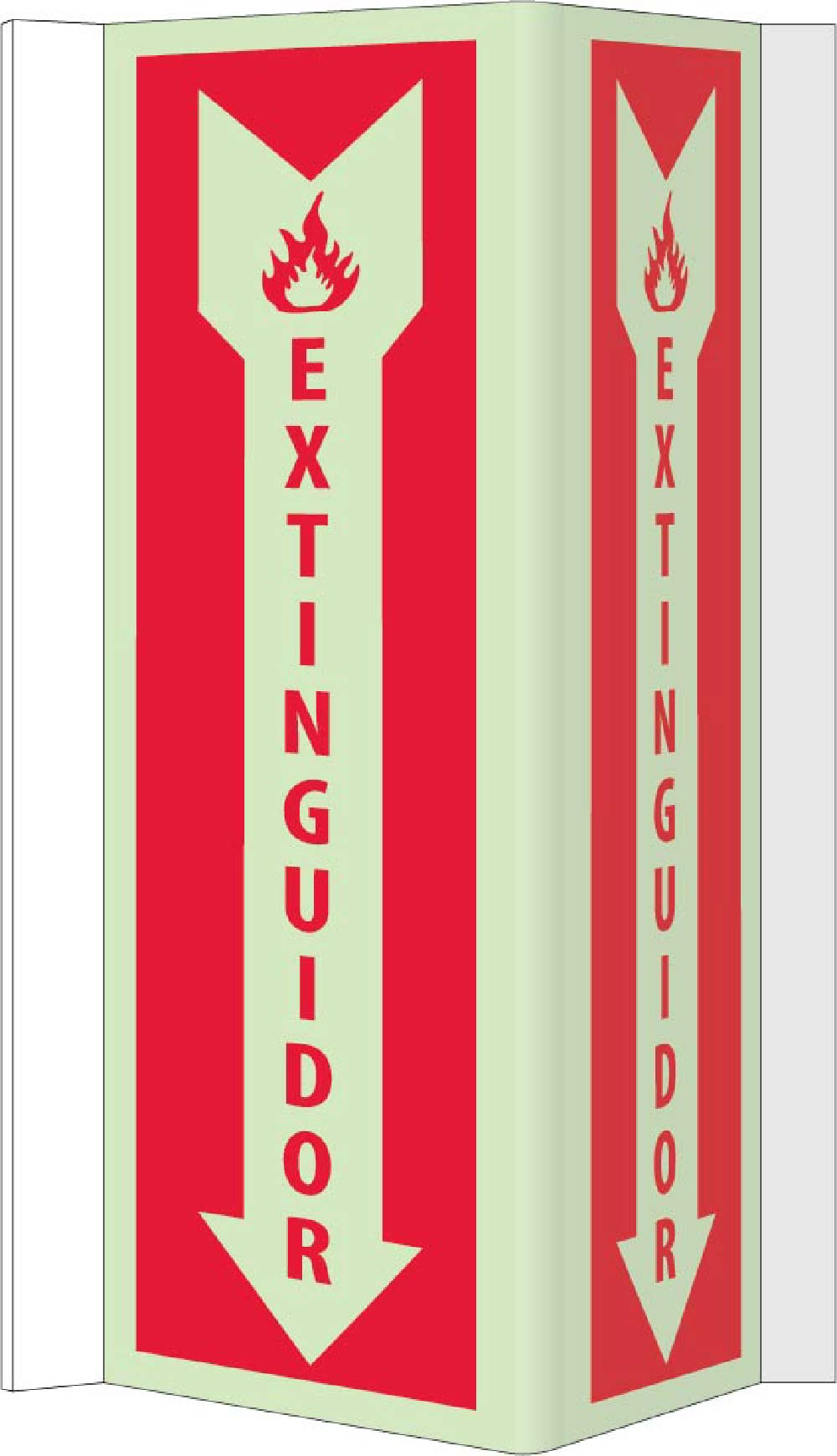 Extinguisher Sign - Spanish
