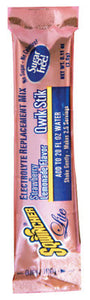 Sqwincher Qwik Stick .11 Ounce Powder Concentrate Sticks Strawberry Lemonade Electrolyte Drink - Yields 20 Ounces