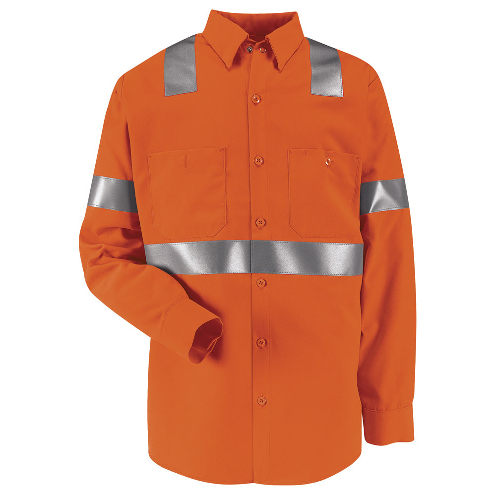 Red Kap Hi-Visibility Work Shirt - Class 2 Level 2