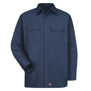 Red Kap Men's Utility Uniform Shirt