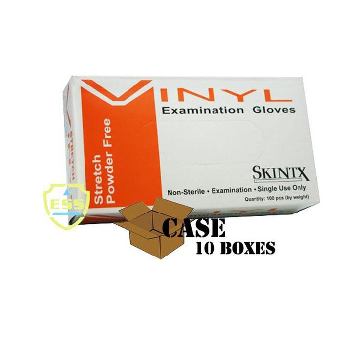 Skintx - Stretch Powder-Free Vinyl Exam Gloves - Case