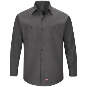 Red Kap Men's MIMIX™ Long SleeveWork Shirt