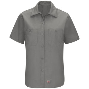 Red Kap Women's MIMIX™ Short Sleeve Work Shirt