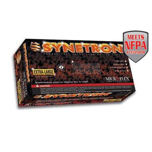 Microflex - Synetron Polymer-Coated Latex Examination Gloves - Box