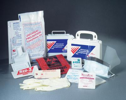 Safetec Biohazard Universal Precaution Kit - Poly Bag