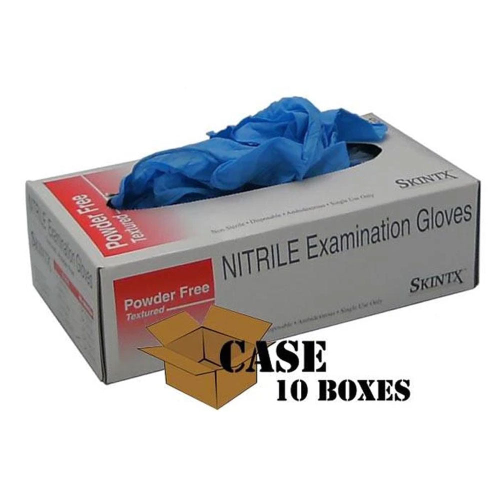 Skintx - Nitrile Powder-Free Exam Gloves - Case