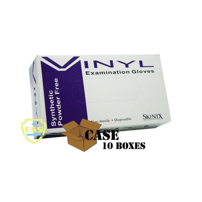 Skintx - Vinyl Powder-Free Exam Gloves - Case