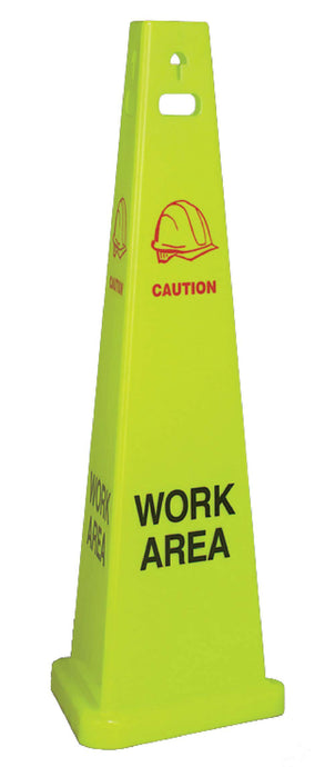Work Area Trivu 3-Sided Safety Cone - Case of 3