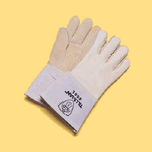 "Tillman Gray 14"" Cotton/Foam Welders Gloves"