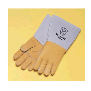 "Tillman Large Gold 14"" Cotton/Foam Gloves"