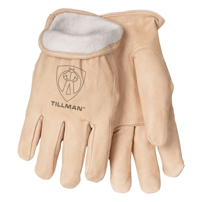 Tillman Pearl Pigskin Fleece Lined Cold Weather Gloves