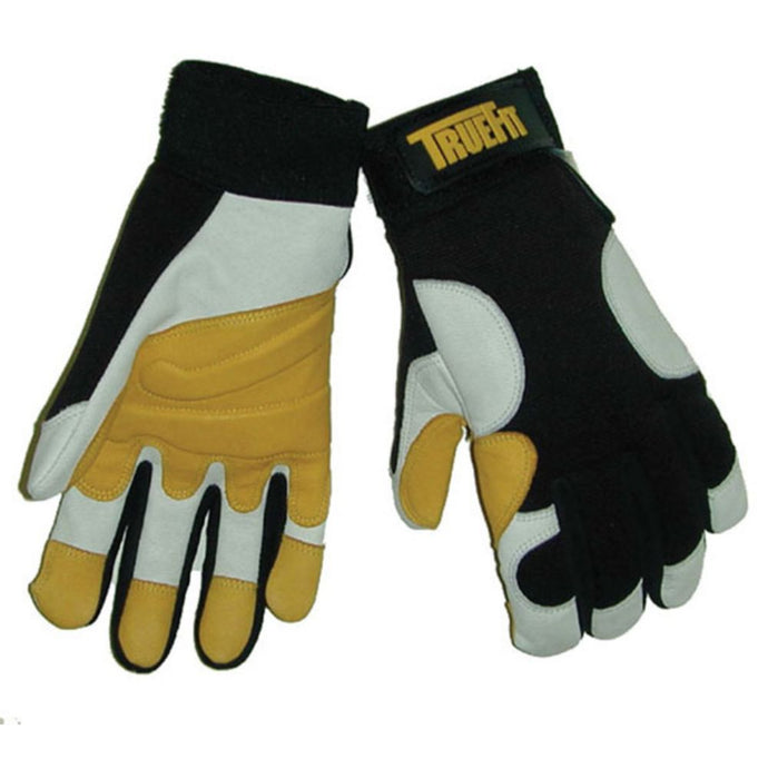 Tillman Black, Gold And Pearl TrueFit Premium Gloves