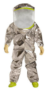 DuPont -Tychem TK Fully Encapsulated Level A Coverall - Front Entry
