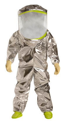 DuPont -Tychem TK Fully Encapsulated Level A Coverall - Back Entry
