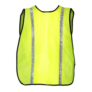 ML Kishigo - T-Series Mesh/ Economy Tight Woven Imprintable Striped Vest