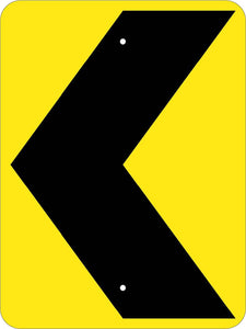Chevron Traffic Arrow Sign