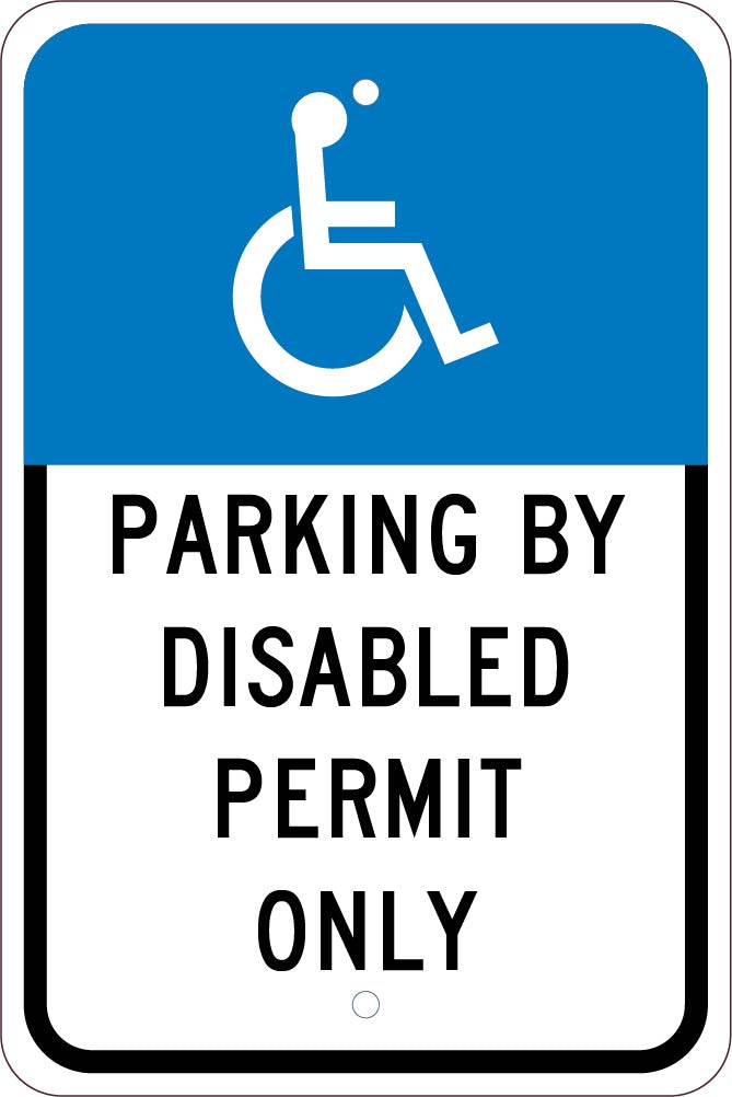 State Handicapped Parking Florida Sign