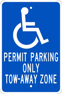 State Handicapped Parking Sign Georgia