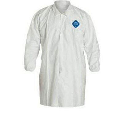DuPont - Tyvek Frock Lab Coats - Case (30 Pieces)
