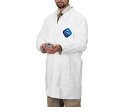 DuPont - Tyvek Lab Coat with 2 Pockets - Case (25 Pieces)