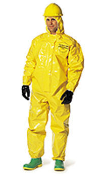 Dupont - Tychem QC Elastic Coveralls with Hood