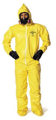 Dupont - Tychem QC Coveralls with Hood and Boots