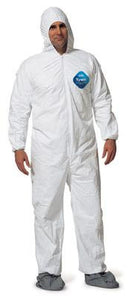 Dupont - Tyvek Disposable Coveralls with Hood and Boots