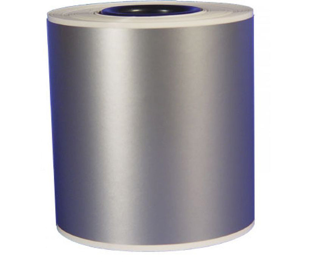 High Gloss Heavy Duty Continuous Vinyl Roll Silver/Grey - Roll