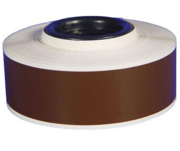 High Gloss Heavy Duty Continuous Vinyl Roll Dark Brown - Roll