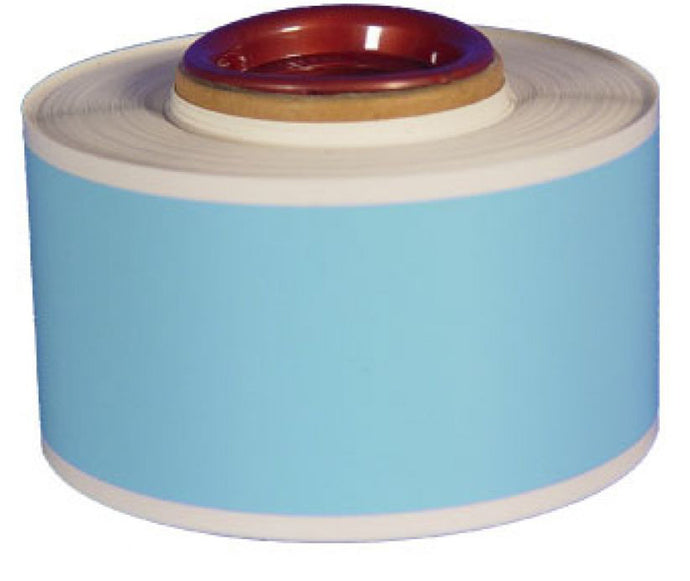 High Gloss Heavy Duty Continuous Vinyl Roll Lt. Blue - Roll