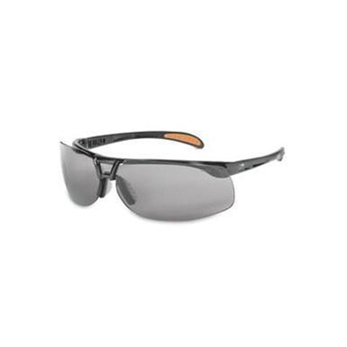Uvex® By Honeywell Uvex Protégé® Safety Glasses With Black Frame And Gray HydroShield™ Anti-Fog Anti-Scratch Lens