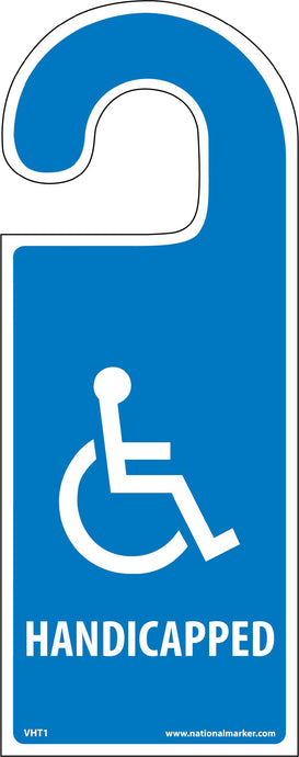 Vehicle Hang Tag Handicapped Tag
