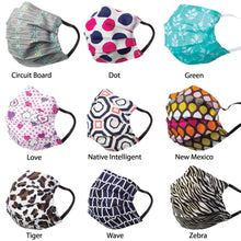 Load image into Gallery viewer, V-Masks Reusable Personal Mask Pattern Design (1-Mask)
