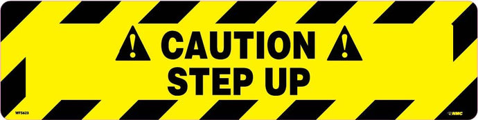 Caution Step Up Anti-Slip Cleat