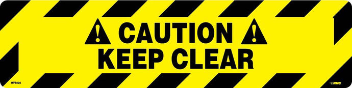 Caution Keep Clear Anti-Slip Cleat