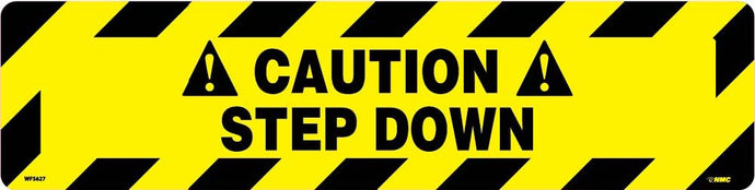 Caution Step Down Anti-Slip Cleat