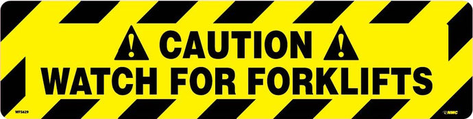 Caution Watch For Forklifts Anti-Slip Cleat