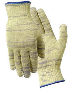 Wells Lamont X-Large Gray And Yellow Whizard Metalguard Seamless Knit 10 gauge Medium Weight Fiber And Stainless Steel Ambidextrous Cut Resistant Gloves With Knit Wrist