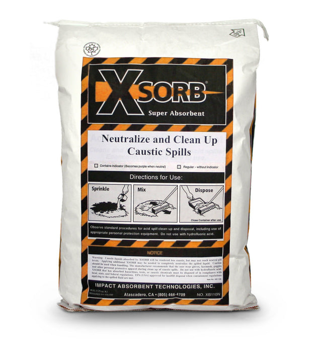 XSORB Caustic Neutralizing Absorbent Bag 1.75 cu. ft. - 1 BAG